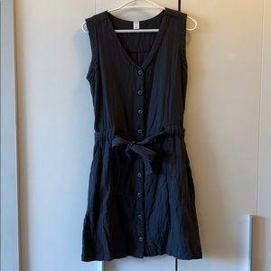 Cotton Button Up Dress